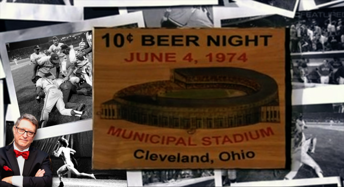 """The """"Ten Cent Beer Night"""" Riot (History Guy)"""