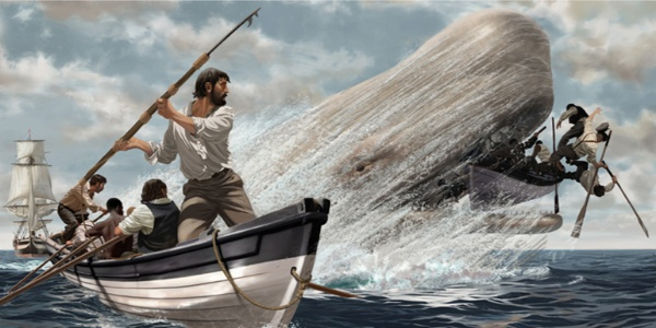 American Literature and The Bible? Melville's Moby Dick.