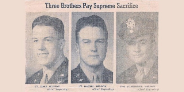 Family Sends Five Sons To War