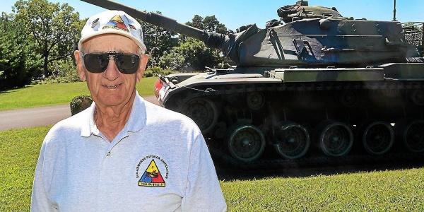 WW2 Tank Gunner Don Evans