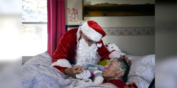 When Santa Visited A Nursing Home...