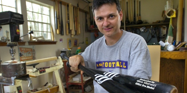 He Made A Wood Bat For His Son, And It Accidentally Overtook Louisville Slugger!