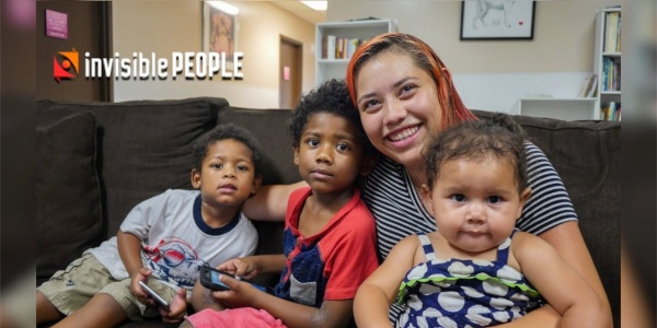 Invisible People: Homeless Mother of 4 with 3 Part-Time Jobs