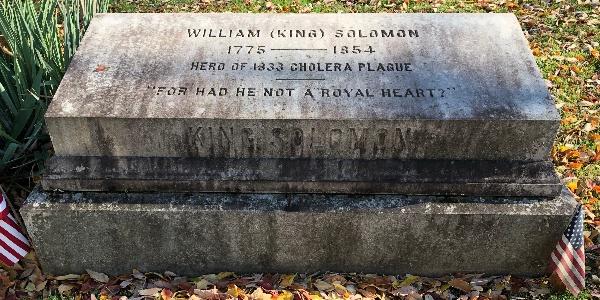 King Solomon, Town's Grave Digging Drunk-Turned Hero