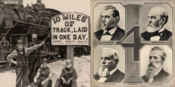 The Big Four and the Transcontinental Railroad
