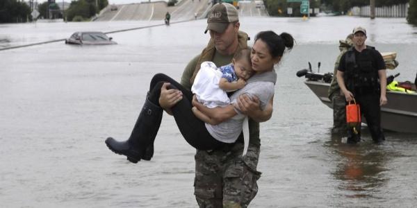 The Cajun Navy Saving Lives