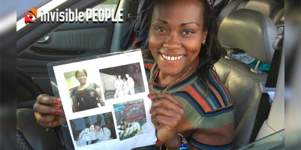 Invisible People: Homeless Veteran Living in Her Car