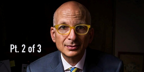 Seth Godin: Marketing Has A Marketing Problem... Too Many Narcissists Manipulating People (Pt. 2 of 3)