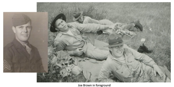 The Unexpected Friendship with WWII Hero Joe Brown