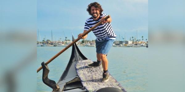 Meet Michael Angelo Ruffino, Professional Gondolier