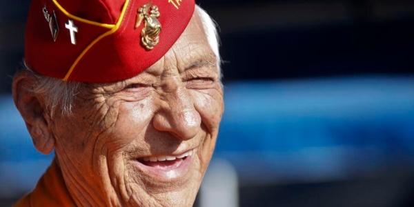 WWII's Navajo Code Talker, Roy Hawthorne