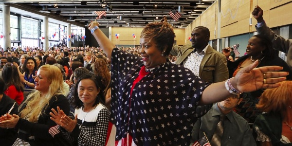 New Citizens, Breathing New Life...Into America! (4th of July)