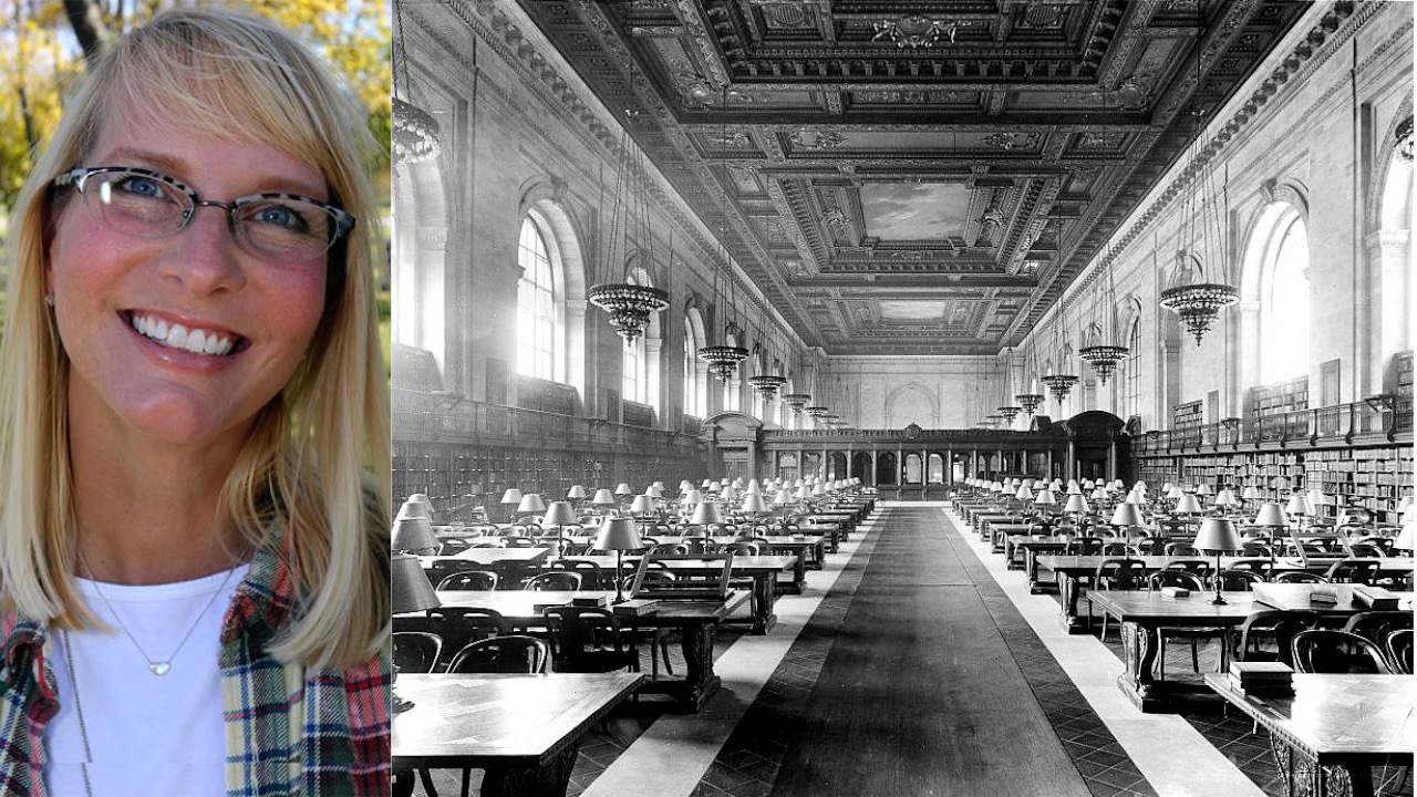 A Family Lived in the New York Public Library?