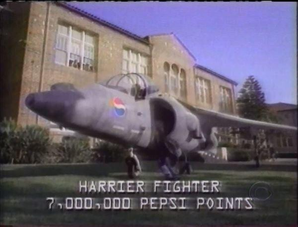 What Happened When a Kid Sued Pepsi for a Harrier Jet?