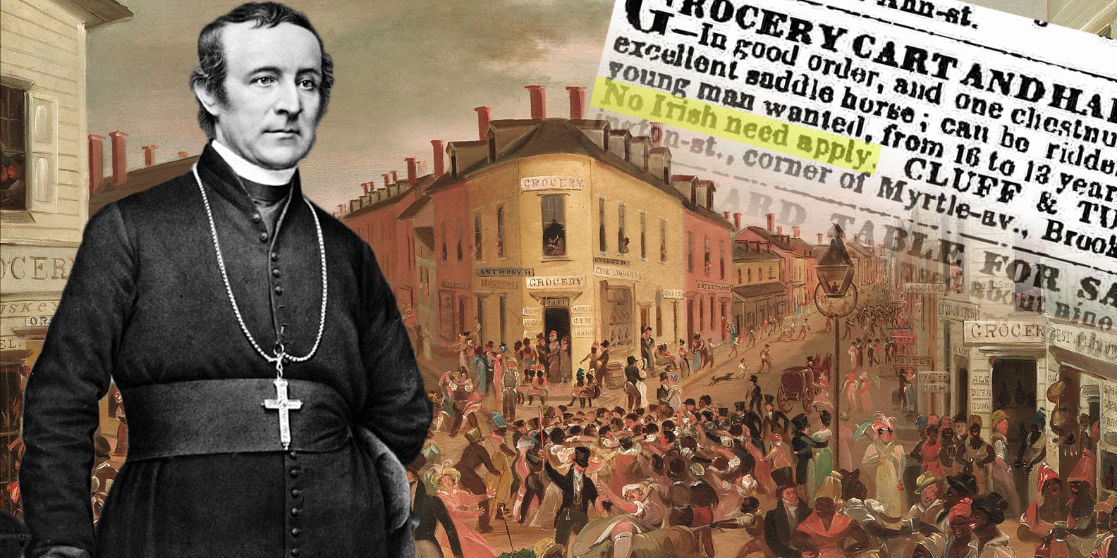 Dagger John Hughes - The Irish Chieftain of American Catholicism