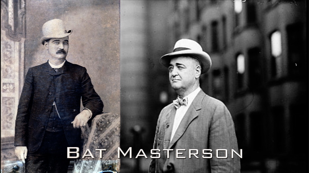 Gunfighter/Lawman/Gambler Bat Masterson: Forever Changed the West