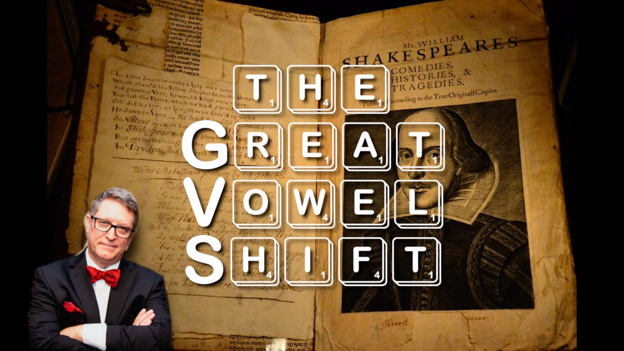 The Great Vowel Shift and the Making of Modern English (History Guy)