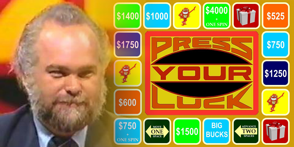 """The Time When """"Press Your Luck"""" Didn't Require Much Luck"""
