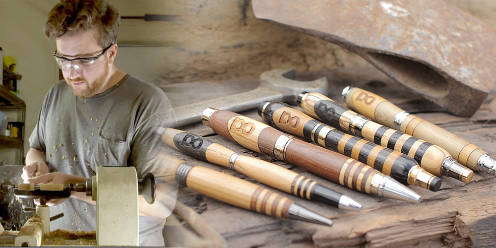 From Tech-Startup to Making a Wooden Pen with His Dad: The Story of Allegory