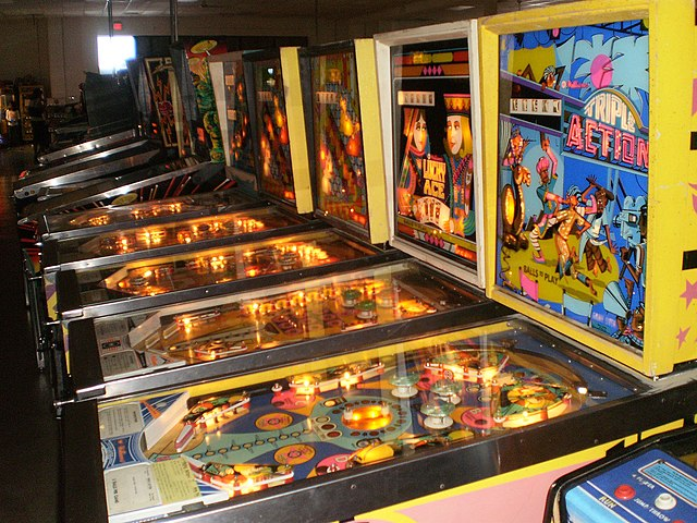From Bagatelle to Video Games: The History of Pinball