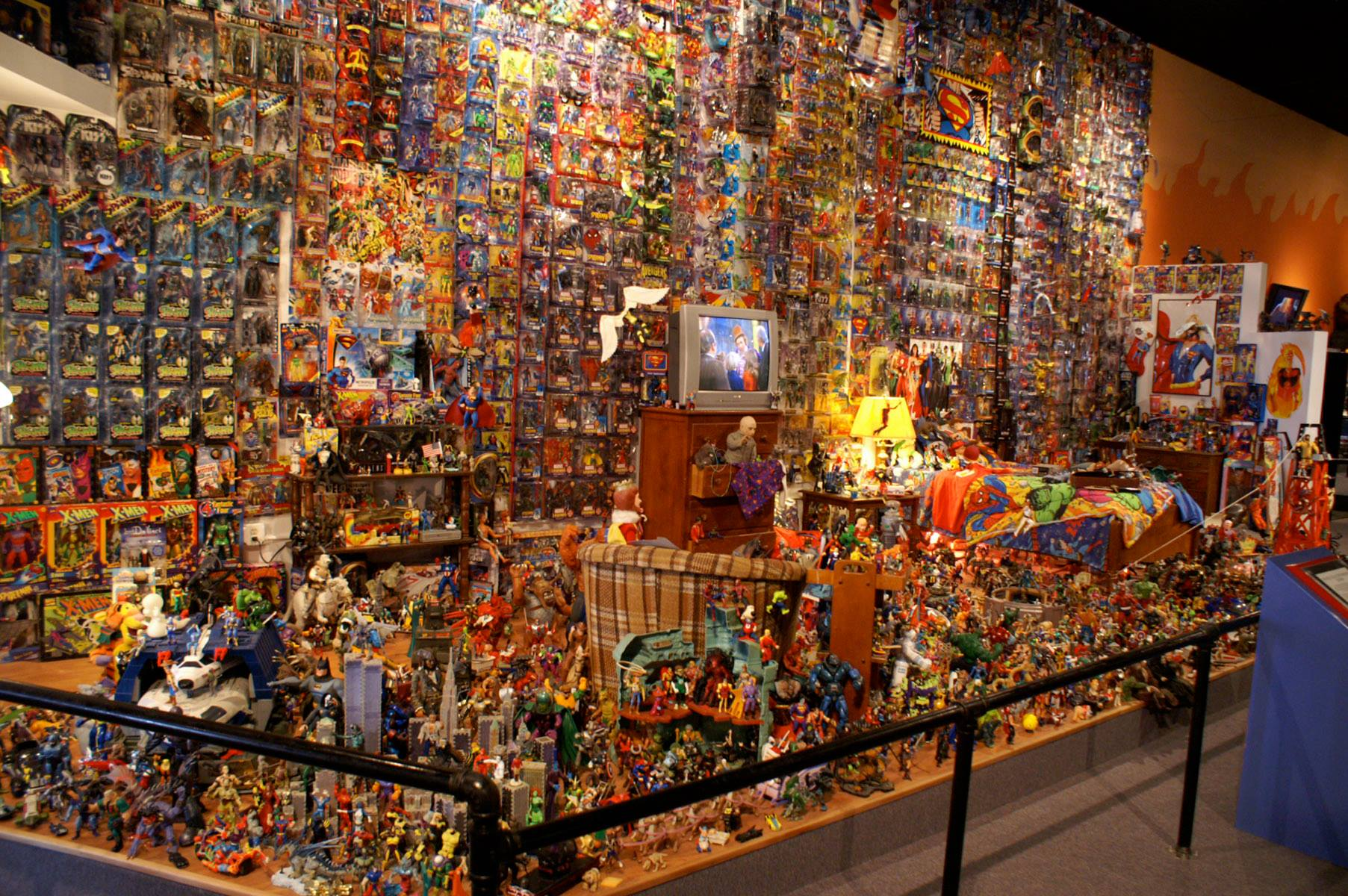 The Worlds First Action Figure Museum